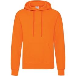 textil Hombre Sudaderas Fruit Of The Loom 62208 Naranja
