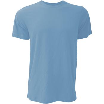 textil Hombre Camisetas manga corta Bella + Canvas CA3001 Azul colombia jaspeado
