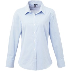 textil Mujer Camisas Premier PR320 Azul Claro