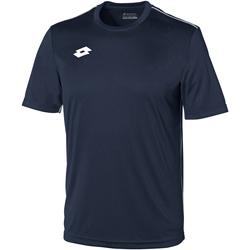 textil Niños Camisetas manga corta Lotto LT26B Azul marino/ Blanco