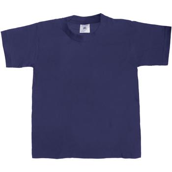textil Niños Camisetas manga corta B And C Exact 190 Azul real