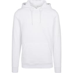 textil Hombre Sudaderas Build Your Brand BY011 Blanco