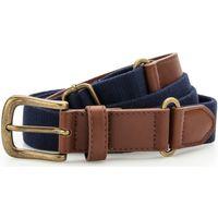 Accesorios textil Hombre Cinturones Asquith & Fox AQ902 Azul marino