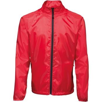 textil Hombre Cortaviento 2786  Rojo / Negro