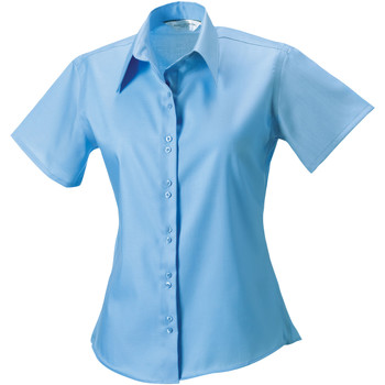 textil Mujer Camisas Russell 957F Azul cielo