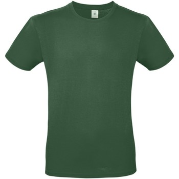 textil Hombre Camisetas manga corta B And C TU01T Verde Botella