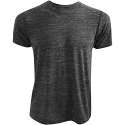 textil Camisetas manga corta Bella + Canvas CA3650 Carbón jaspeado