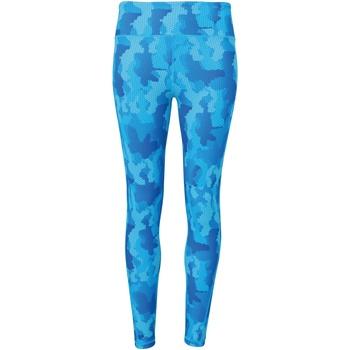 textil Mujer Leggings Tridri TR032 Zafiro Camuflaje