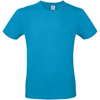 textil Hombre Camisetas manga corta B And C TU01T Azul Atolón