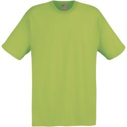 textil Hombre Camisetas manga corta Universal Textiles 61082 Verde Spring