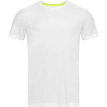 textil Hombre Camisetas manga corta Stedman Mesh Blanco