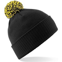 Accesorios textil Niña Gorro Beechfield Snowstar Negro/Amarillo