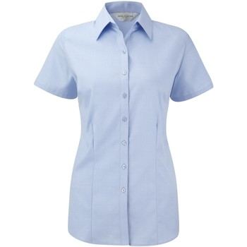 textil Mujer Camisas Russell 963F Azul claro
