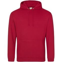 textil Sudaderas Awdis College Rojo Fuego