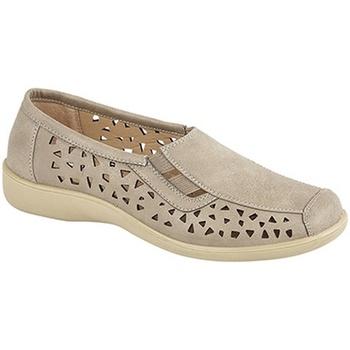 Zapatos Mujer Mocasín Boulevard  Piedra