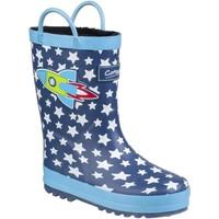 Zapatos Niños Botas de agua Cotswold Sprinkle Azul