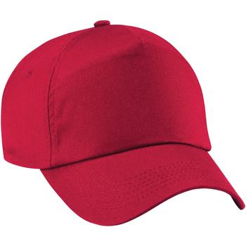 Accesorios textil Niños Gorra Beechfield B10B Rojo