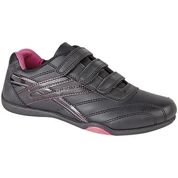 Zapatos Mujer Zapatillas bajas Dek Raven Negro/Fucsia