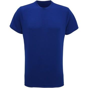 textil Hombre Camisetas manga corta Tridri TR010 Azul Real