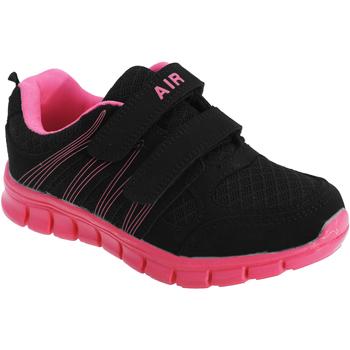 Zapatos Niño Multideporte Dek  Negro/Fucsia