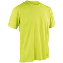 textil Hombre Camisetas manga corta Spiro S253M Verde lima