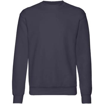 textil Niños Sudaderas Fruit Of The Loom  Azul oscuro