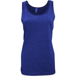 textil Mujer Camisetas sin mangas Bella + Canvas CA3480 Azul Marino
