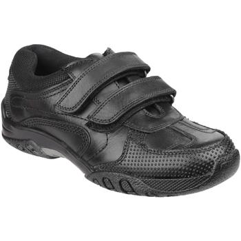 Zapatos Niño Zapatillas bajas Hush puppies Jezza Negro