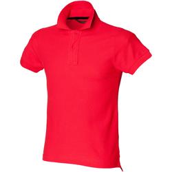 textil Hombre Polos manga corta Skinni Fit SFM47 Rojo brillante