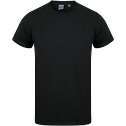 textil Niños Camisetas manga corta Skinni Fit SM121 Negro