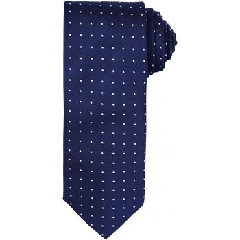 textil Hombre Corbatas y accesorios Premier Dot Pattern marino/blanco