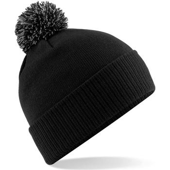 Accesorios textil Niña Gorro Beechfield Snowstar Negro/gris
