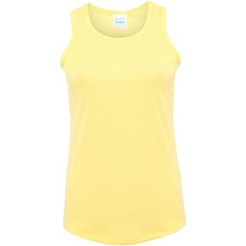 textil Mujer Camisetas sin mangas Awdis JC015 Sorbete de limón