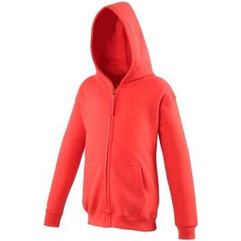 textil Niños Sudaderas Awdis JH50J Rojo intenso