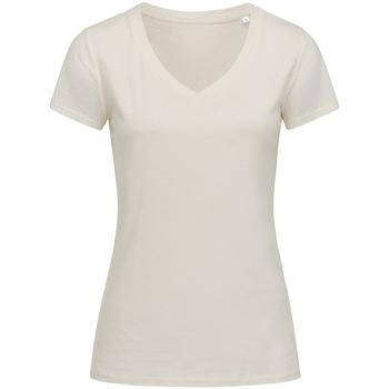 textil Mujer Camisetas manga corta Stedman Stars Janet Blanco Invierno