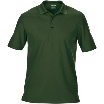 textil Hombre Polos manga corta Gildan GD046 Verde oscuro
