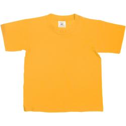 textil Niños Camisetas manga corta B And C TK300 Oro