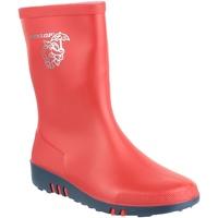 Zapatos Niños Botas de agua Dunlop K131510  Mini Elephant Rojo/Azul