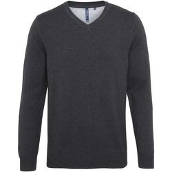 textil Hombre Jerséis Asquith & Fox AQ042 Gris