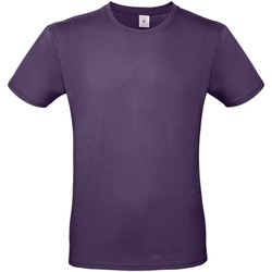 textil Hombre Camisetas manga corta B And C TU01T Púrpura Radiante