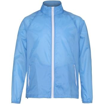 textil Hombre Cortaviento 2786  Azul Cielo/Blanco
