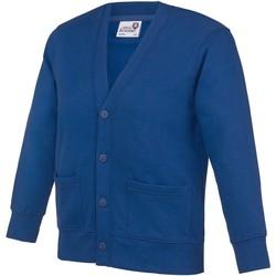 textil Niños Chaquetas de punto Awdis  Azul