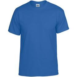 textil Hombre Camisetas manga corta Gildan DryBlend Azul
