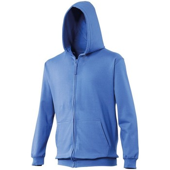 textil Niños Sudaderas Awdis JH50J Azul eléctrico