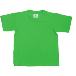 textil Niños Camisetas manga corta B And C TK300 Verde césped