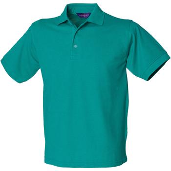 textil Hombre Polos manga corta Henbury HB400 Verde Jade