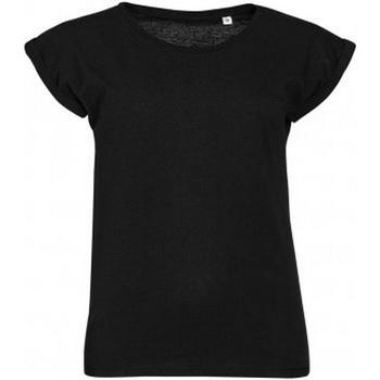 textil Mujer Camisetas manga corta Sols Melba Negro Intenso