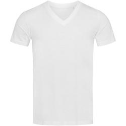 textil Hombre Camisetas manga corta Stedman Stars  Blanco
