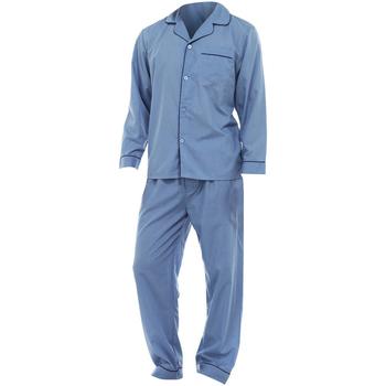 textil Hombre Pijama Universal Textiles  Azul