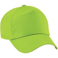 Accesorios textil Niña Gorra Beechfield B10B Verde lima